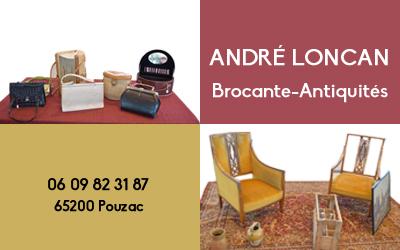 André Loncan - Antiquités Brocante
