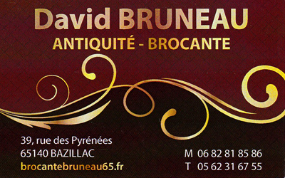 David Bruneau Antiquité Brocante